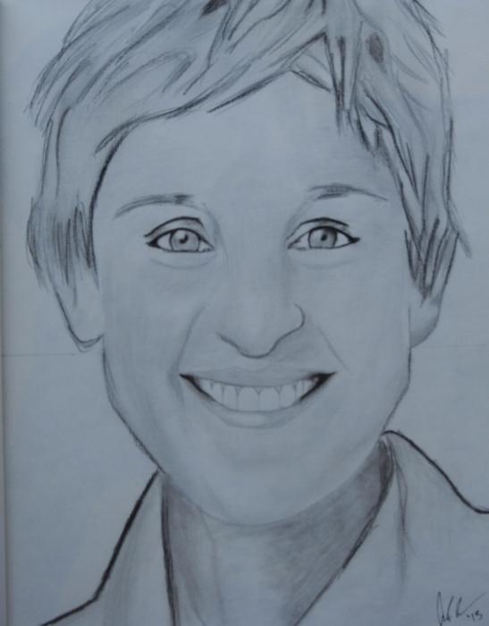 Ellen DeGeneres by aaron7599